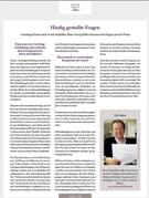 Coaching-Pionier und Coach-Ausbilder Hans-Georg Huber beantwortet Fragen aus der Praxis