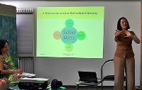 Vortrag von Barbara Hofmann-Huber auf dem Sommerfest der Coaching-Ausbildung