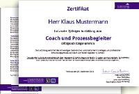 Das Zertifikat des Cochingbüros für Absolventen unserer Coaching-Ausbildung