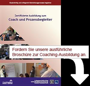 Broschüre unserer Coachingausbildung