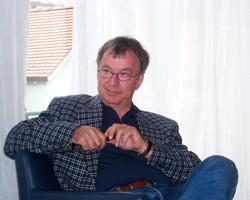 Hans-Georg Huber 2002 in der Coaching Ausbildung Freiburg